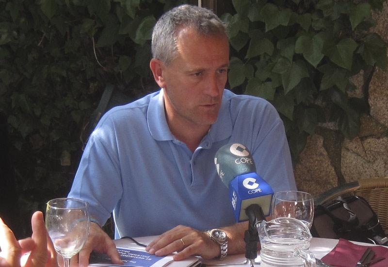 El Alcalde de Hoyo de Manzanares, Ramon Regueiras, al hacer un balance a mitad de legislatura
