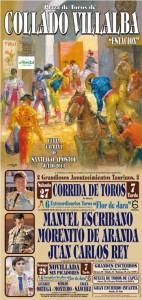 Corrida de Toros - Fiestas de Santiago Apóstol - Collado Villalba 2013