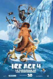 Ice Age 4, La formación de los continentes