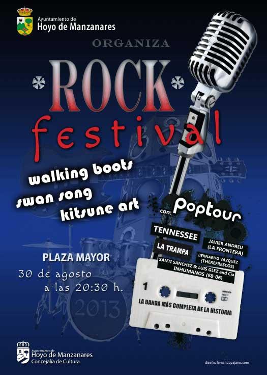 Rock Festival - Hoyo de Manzanares 30 de agosto 2013