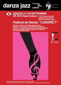 """CABARÉ.T"", en el Teatro Bulevar de Torrelodones"
