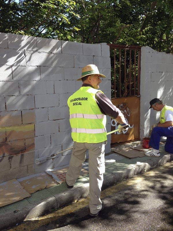 Programa de Colaboración Social para desempleados de Galapagar
