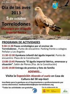 Programa Día de las Aves - Torrelodones 2013
