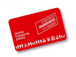 Tarjeta de Transporte Público de la Comunidad de Madrid