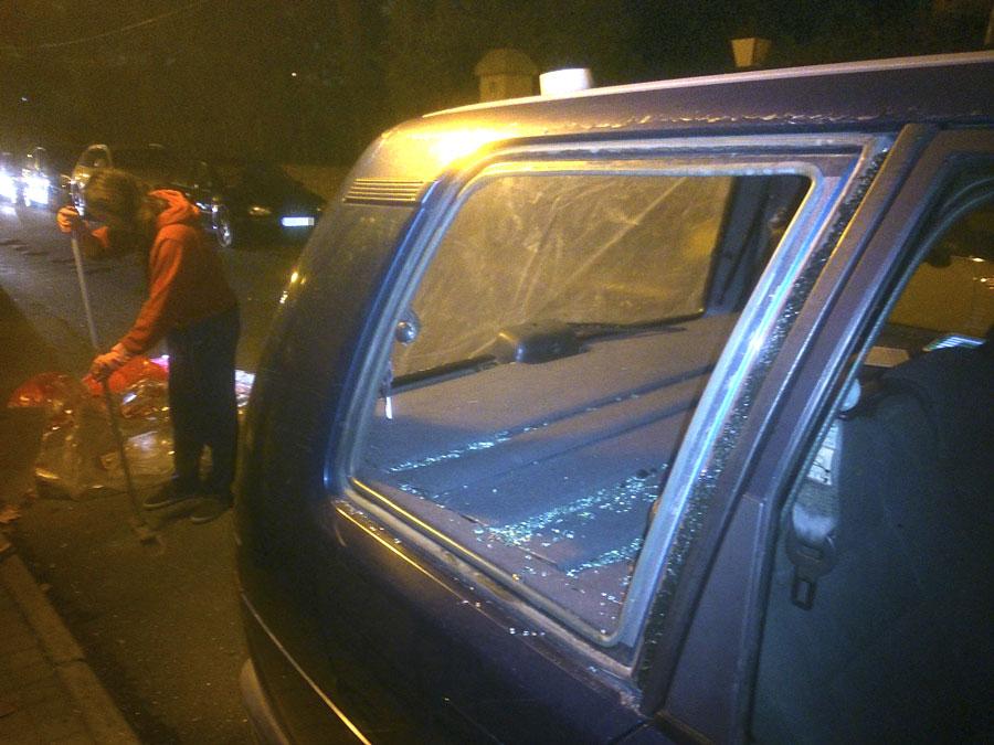 Vandalismo o gamberrismo en Torrelodones