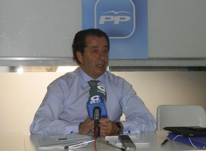 Javier Laorden, portavoz del Grupo Municipal del Partido Popular (Foto de Archivo)