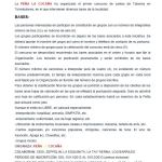 Bases Concurso de Cantos de Taberna de la Peña La Cucaña de Torrelodones 2013
