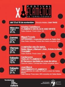 Festival de Flamenco de Torrelodones 2013 - Programa