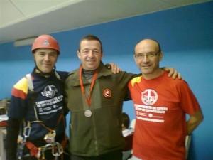 José Ramón Torres Chaves obtiene medalla de plata en el campeonato de España de TPV en Espeleología