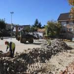 Obras Parking Calle Real de Torrelodones (Foto: Ayto. Torrelodones)