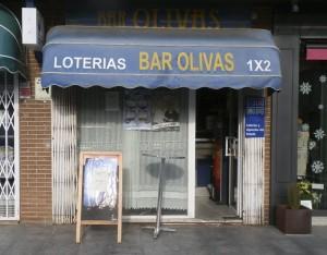 El Bar Olivas de Torrelodones, vendió uno de los quintos premios de la Lotería de Navidad