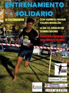Entrenamiento solidario de Trial Running en Torrelodones