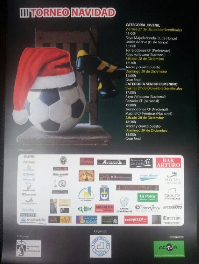 III Torneo de Fútbol de Navidad, organizado por acTÚa - 27,28 y 29 de diciembre 2013