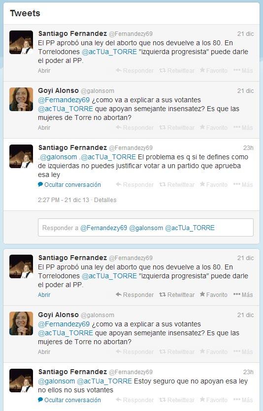 Santiago Fernández - Aborto