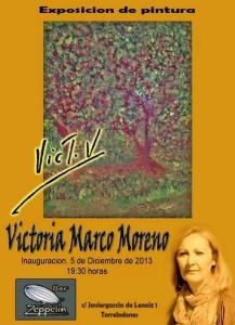 Exposición de Victoria Marco Moreno en Zeppelin (Torrelodones, Madrid)