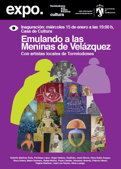 Emulando a las Meninas de Velázquez en Torrelodones