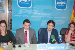 Populares de Galapagar en rueda de prensa