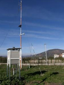 Estación Meteorológica de la AEMET en Villarrodrigo (Jaén) (Foto: Ayto. Villarrodrigo)