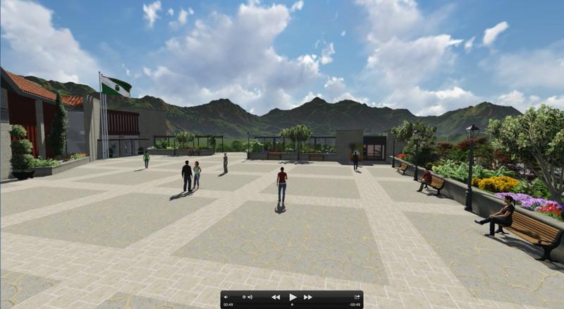 La nueva plaza en Galapagar se llamará