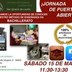 Jornada de Puertas Abiertas del Bachillerato del Colegio San Ignacio de Loyola (Torrelodones)
