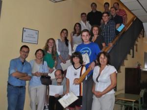 Ganadores 2014 del Concurso Anual de Redacción de la Escuela Municipal de Idiomas de Torrelodones