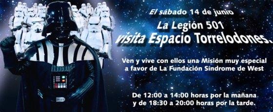 La Legión 501 de Stars Wars visitará el C.C. Espacio Torrelodones el próximo sábado 14 de junio 2014