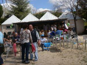 Mi sitio de recreo, terraza de ocio familiar en Torrelodones