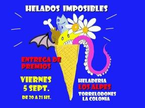 Entrega de premios del Concurso de Helados Imposibles