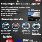 Consejos para protegerse en un incendio de vegetación
