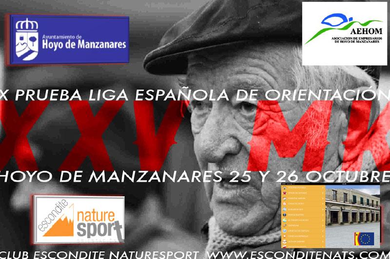 Deporte de Orientación en Hoyo de Manzanares