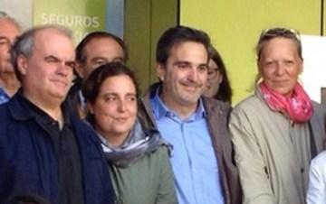 Carlos Martínez Gorriarán, Elvira García Piñero, Antonio Checa Cortéz y Teresa Díez Garrido