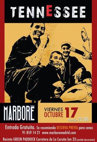 Roberto Gil Fernández (batería y voz), Isidro Arenas Asensio (guitarras y voz) y Amancio Jiménez Moya (bajo y voz) llegan esta noche a Marboré