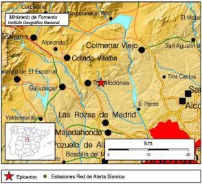 Terremoto en Torrelodones el 12-10-2014