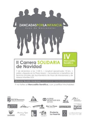 II Carrera Solidaria de Navidad en Hoyo de Manzanares