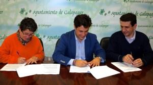 El Ayuntamiento de Galapagar, la urbanización Las Minas y el Canal de Isabel II han firmado un convenio que permitirá renovar la red de distribución de agua