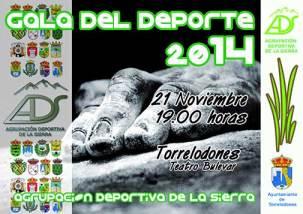 Gala del Deporte de la Agrupación Deportiva de la Sierra (ADS) 2014