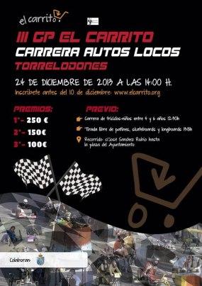 Carrera de Autos Locos: El III GP El Carrito será el 24 de diciembre en Torrelodones
