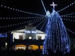 Encendido de luces de Navidad en Galapagar