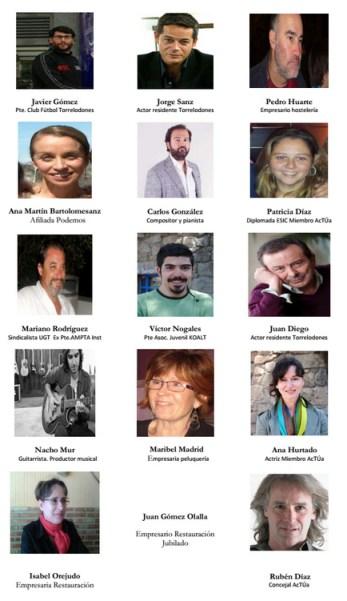 """Impulsores de """"Confluencia Ciudadana"""" en Torrelodones"""