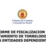 Cámara de Cuentas: Informe Fiscalización del Ayuntamiento de Torrelodones
