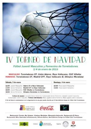 IV Torneo de Navidad Juvenil Masculino y Femenino de fútbol 11 de Torrelodones