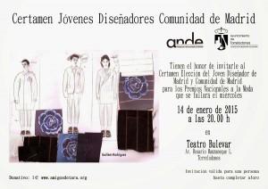 Certamen Jóvenes Diseñadores Comunidad de Madrid