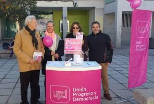 """Campaña """"Un Ciudadano, Una Idea"""" de UPyD en Torrelodones"""