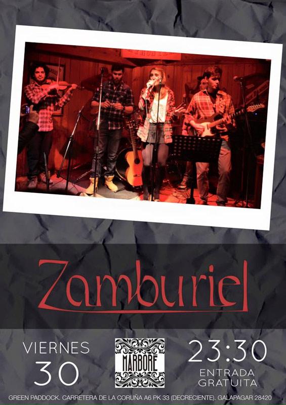 Grupo Zamburiel, 30 de enero 2015 en Marboré (Torrelodones)