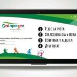 Alquiler on-line de instalaciones deportivas en Galapagar