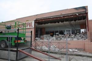 Demolición Mercado Municipal de Galapagar