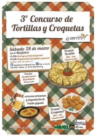 3º Concurso de Tortillas y Croquetas de la Peña El Carrito de Torrelodones