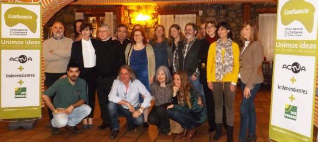 Candidatos de Confluencia Ciudadana en Torrelodones - acTÚa - Los Verdes