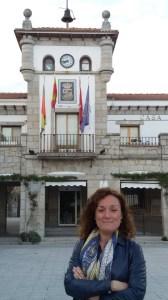 Silvia de la Cagiga Gimeno, candidata de UPyD a la Alcaldía de Hoyo de Manzanares 2015