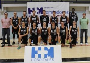 Plantilla de HM Torrelodones en la Fase Final de 1ª Nacional Masculina 2015 (Foto: www.fbm.es)